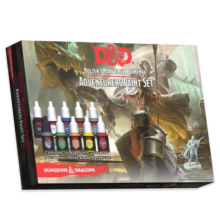The Army Painter Dungeons & Dragons Nolzur`s Marvelous Pigments: Adventurers Paint Set