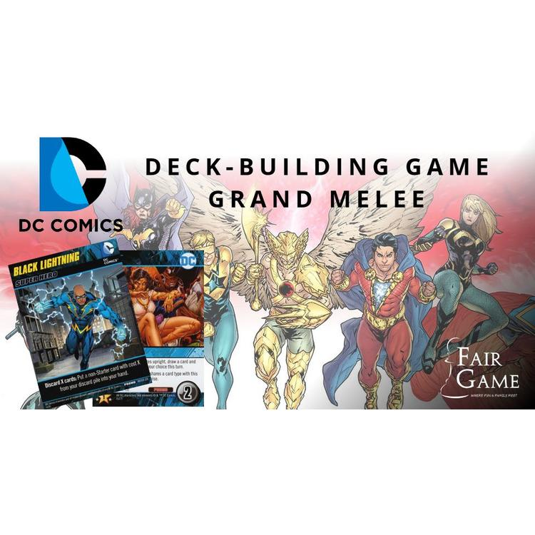 DC Deck-Building Game Grand Melee  - Dec 29th, 5:00pm