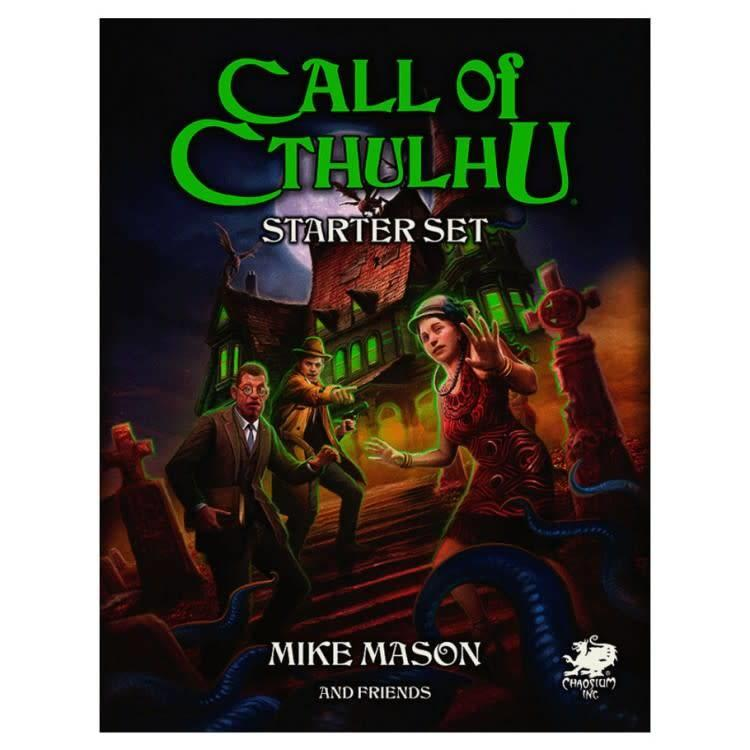 Chaosium Call of Cthulhu Seventh Edition: Starter Set
