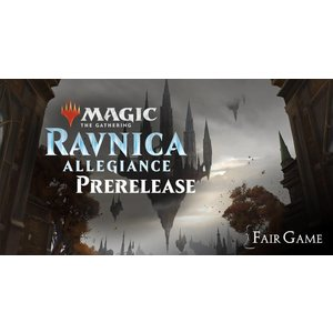 Wizards of the Coast MTG Admission: Ravnica Allegiance Prerelease - Midnight - Jan 19