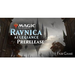 Wizards of the Coast Admission: Ravnica Allegiance Prerelease - Saturday Sealed - Jan 19