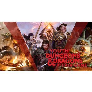Fair Game Youth Dungeons and Dragons Winter Program - Tuesday Sessions January 15 to March 12