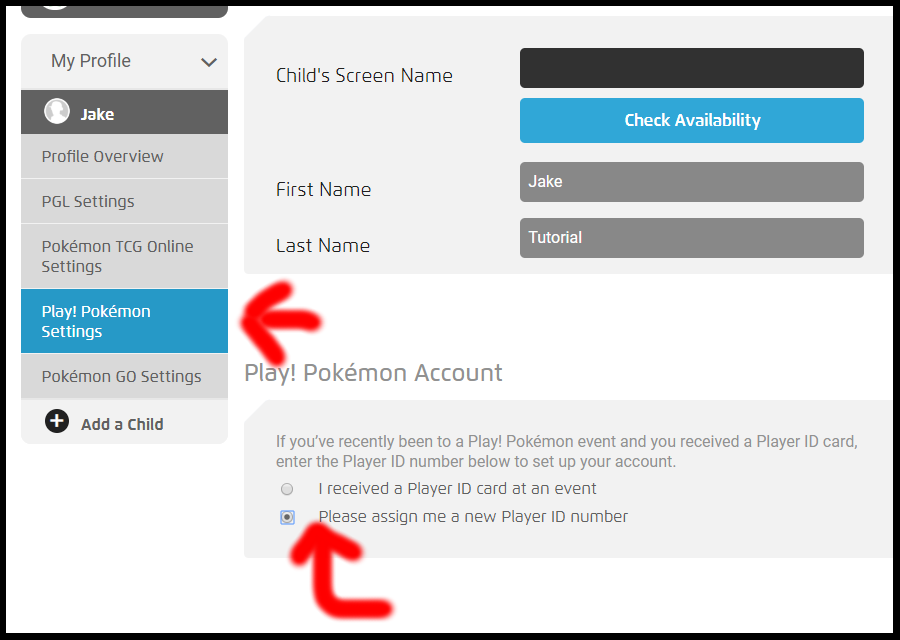 How to Get a Pokémon Player ID Number - Fair Game