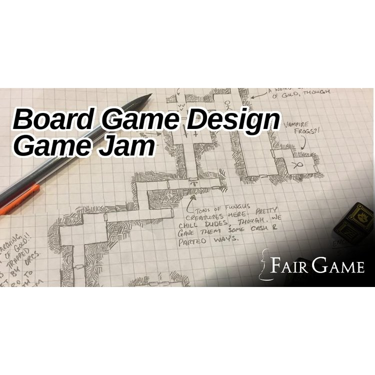 Admission - Board Game Game Jam March 2-9