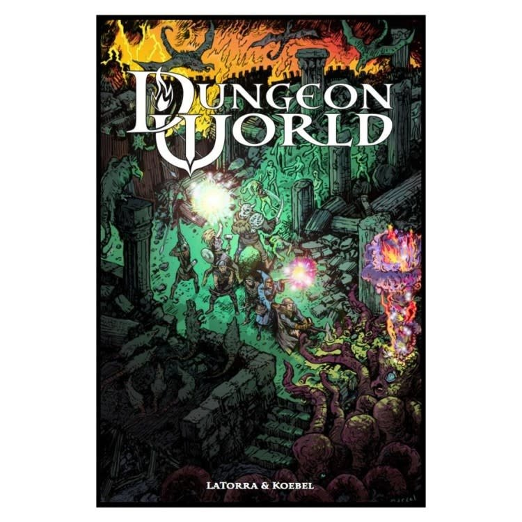 Burning Wheel Dungeon World Roleplaying Game