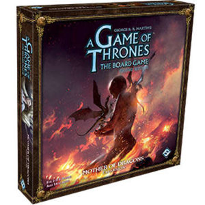 Fantasy Flight Games Game of Thrones Board Games 2nd Edition: Mother of Dragons Expansion