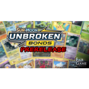 Pokemon International Admission - Pokemon Unbroken Bonds Prerelease - April 20