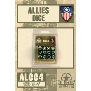 Dust Dust 1947: Allies Dice Set