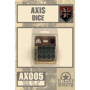 Dust Dust 1947: Axis Dice Set