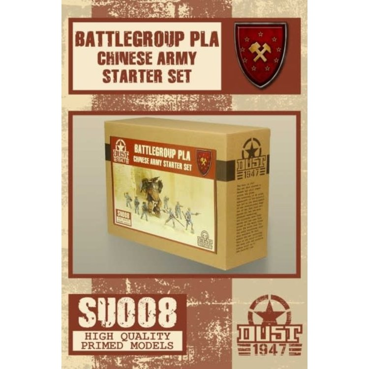 Dust Dust 1947: Chinese Army Starter - Battlegroup PLA