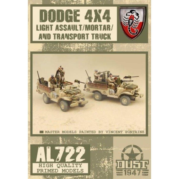 Dust Dust 1947: Desert Scorpions Assault Truck