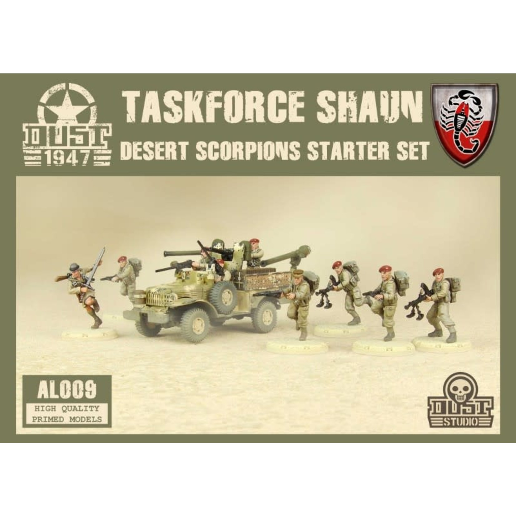 Dust Dust 1947: Desert Scorpions Starter - Taskforce Shaun
