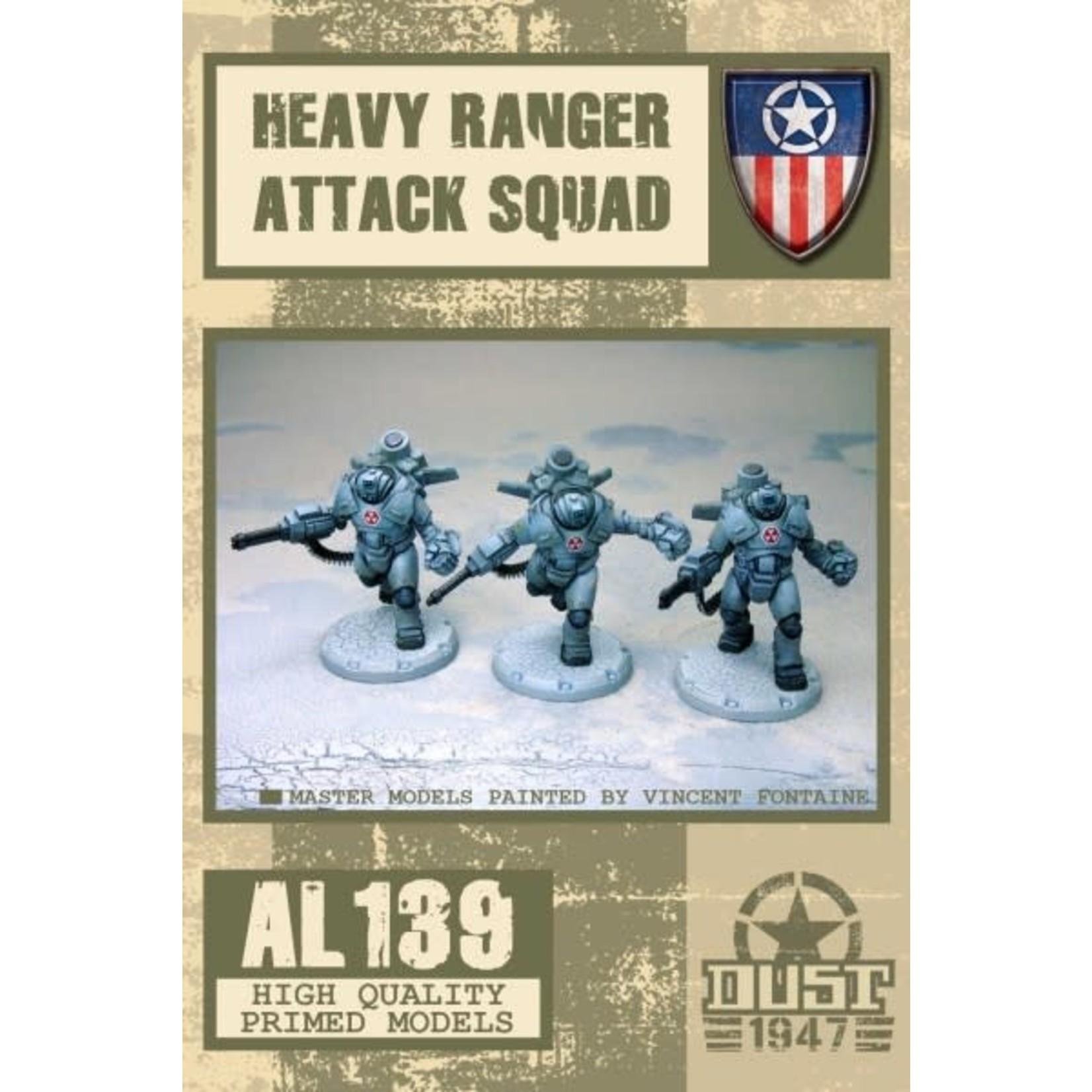 Dust Dust 1947: Heavy Rangers Attack Squad (Grim Reap)