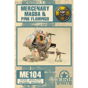 Dust Dust 1947: Mercenary Magda & Flamingo