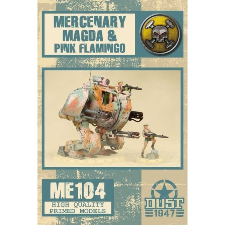 Dust Dust 1947: Mercenary Magda & Flamingo