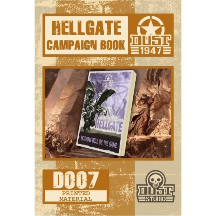 Dust Dust 1947: Operation Hellgate Campaign Book