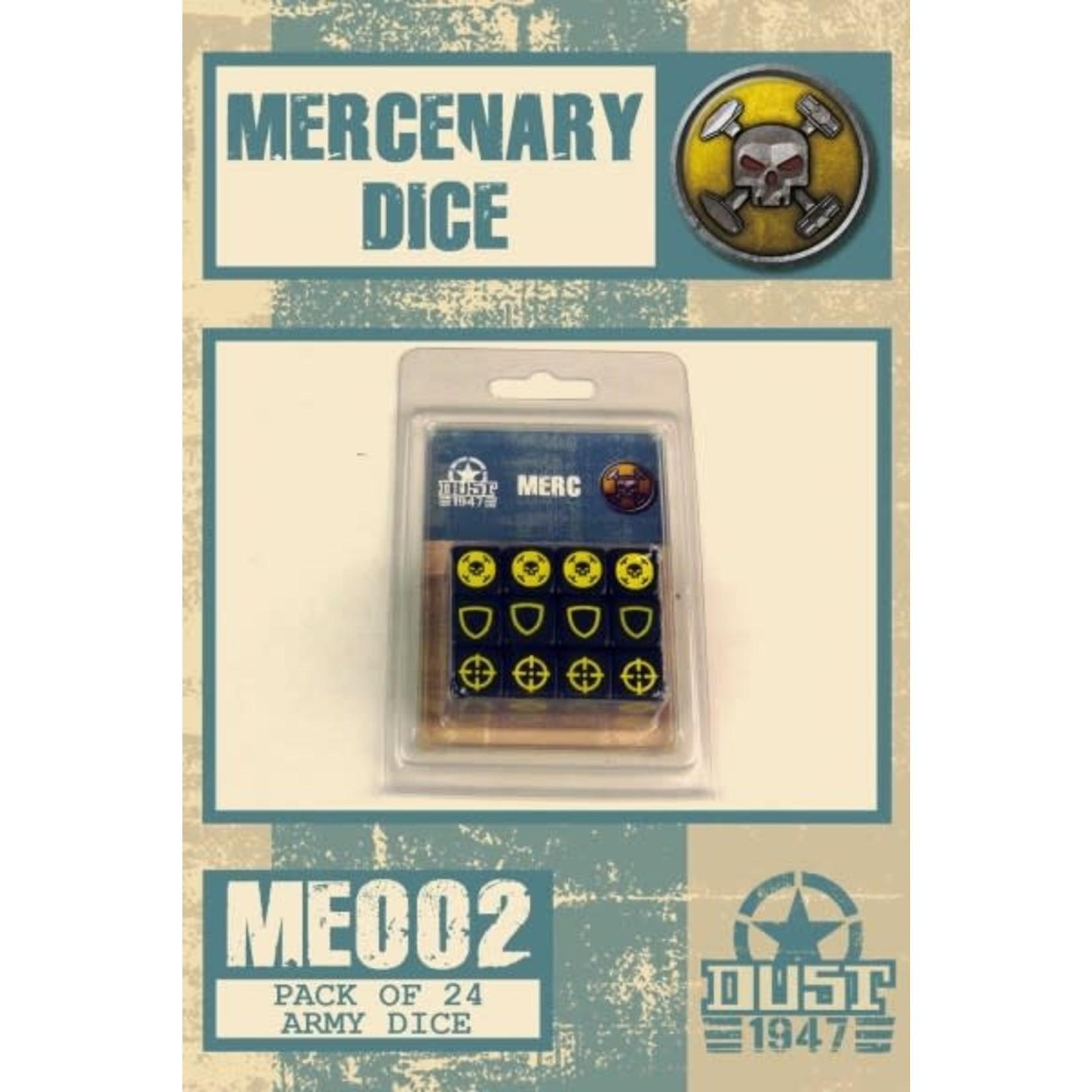Dust Dust 1947: Mercs Dice Set