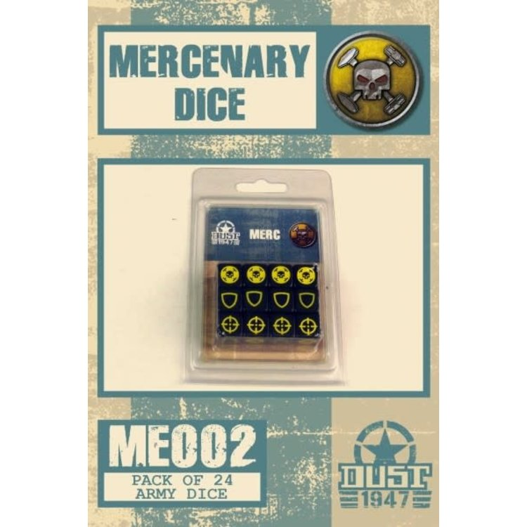 Dust Dust 1947: Mercs Dice Set