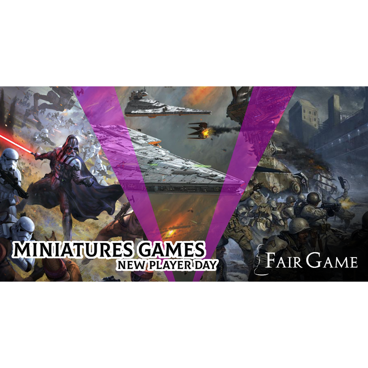 Admission: Miniatures Games New Players Night