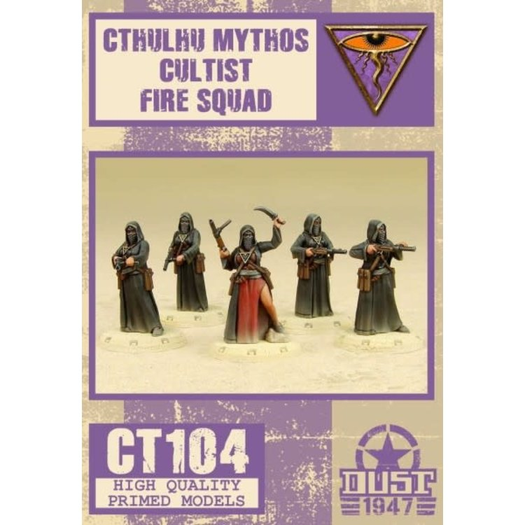 Dust Dust 1947: Mythos Cultist Fire Squad