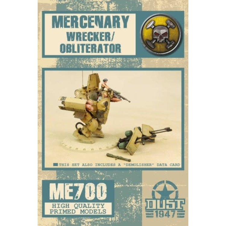 Dust DUST 1947: Demolisher / Wrecker / Obliterator