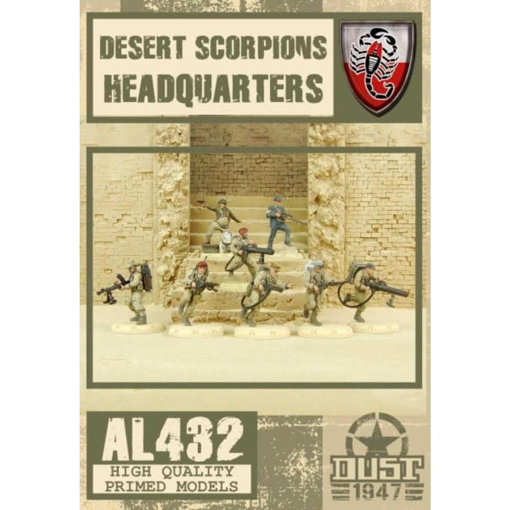 Dust DUST 1947: Desert Scorpion HQ
