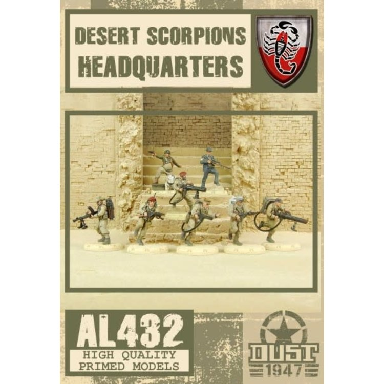 Dust DUST 1947: Desert Scorpion HQ