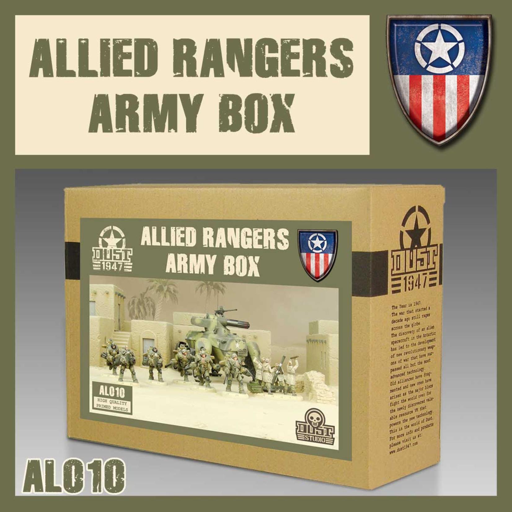 Dust DUST 1947: Heavy Ranger Army Box