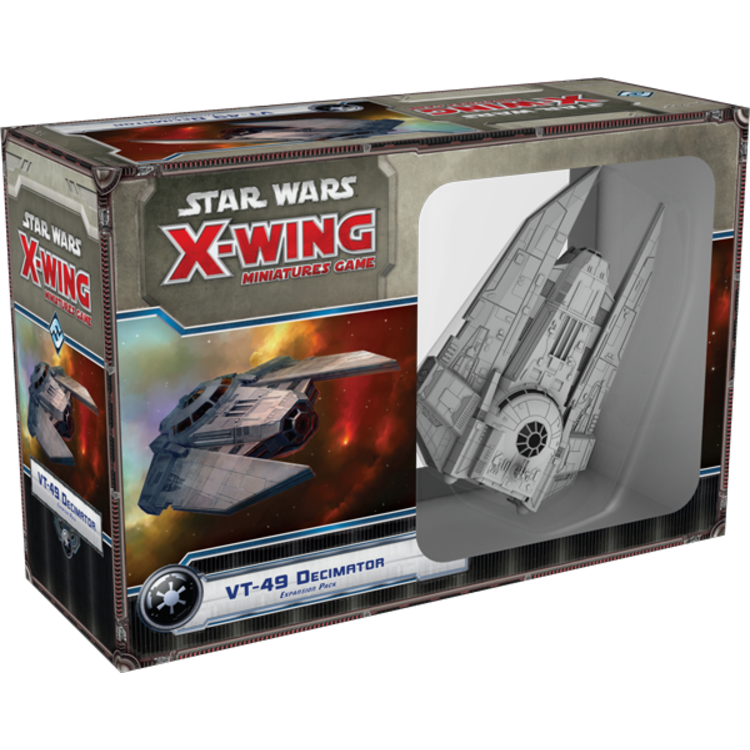 Fantasy Flight Games Star Wars X-Wing 1st Edition: VT-49 Decimator
