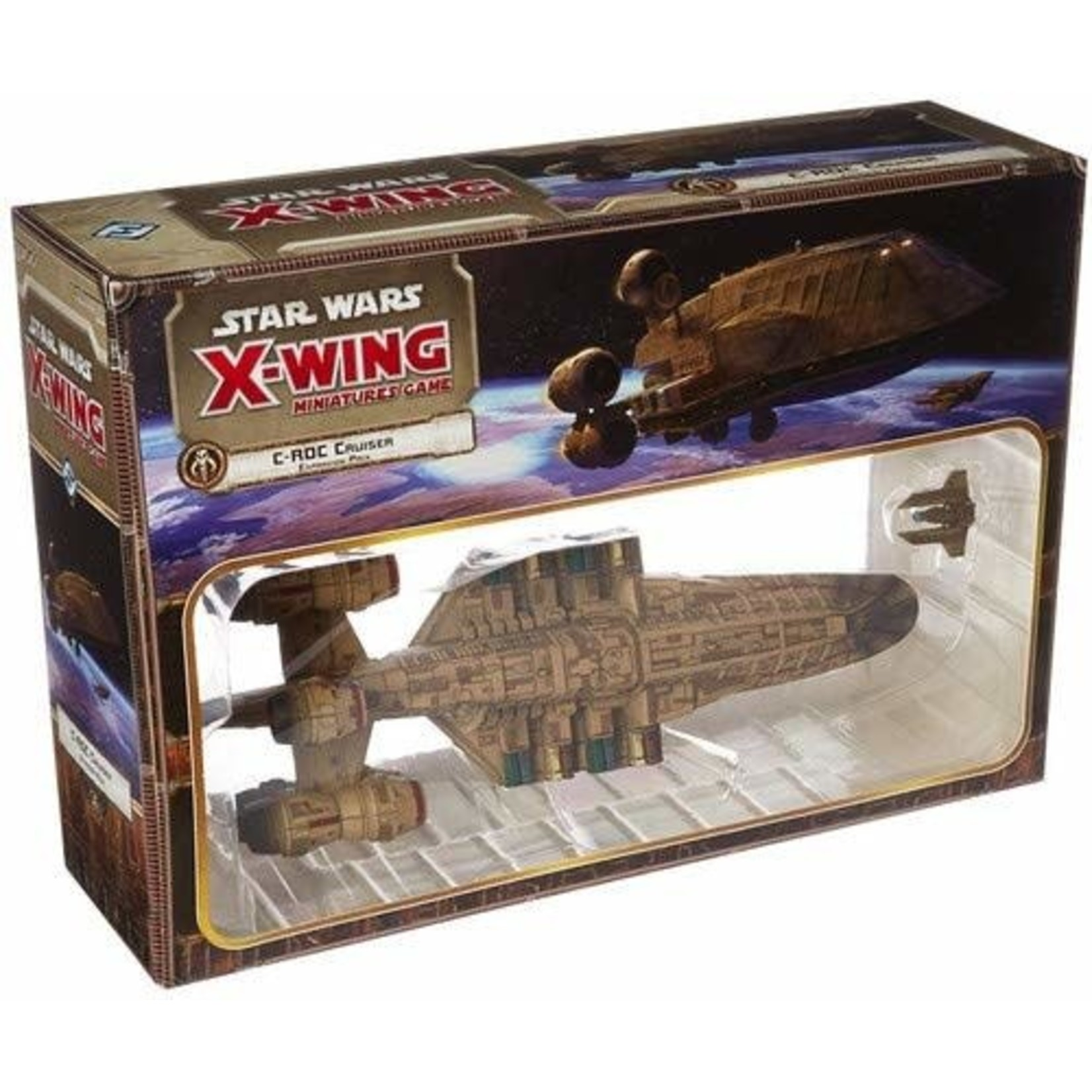 Fantasy Flight Games Star Wars X-Wing 1st Edition: C-ROC Cruiser Expansion Pack