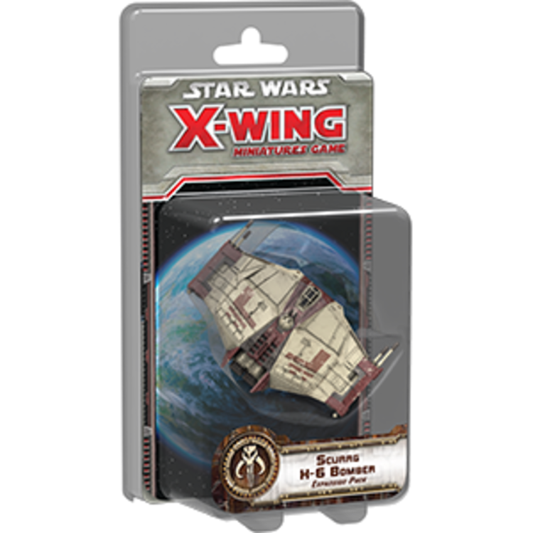 Fantasy Flight Games Star Wars X-Wing 1st Edition: Scurrg H-6 Bomber Expansion Pack