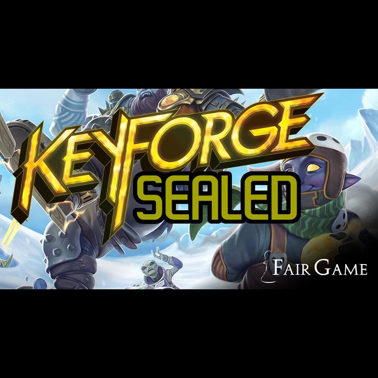 Fantasy Flight Games Admission: Keyforge Chainbound Sealed - April 8