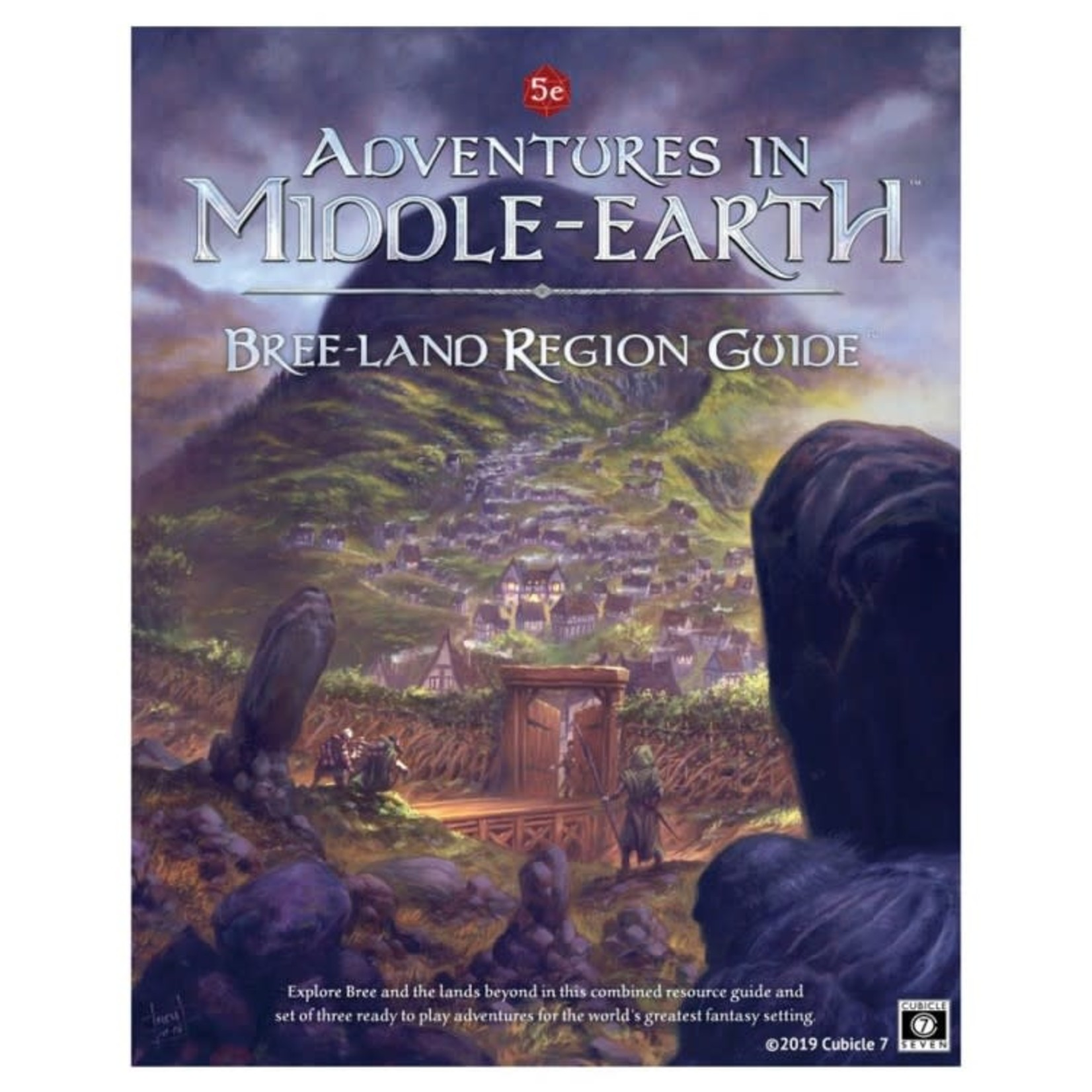 Cubicle 7 Adventures in Middle-Earth: Bree-land Region Hardcover (Dungeons and Dragons 5th Edition Compatible)