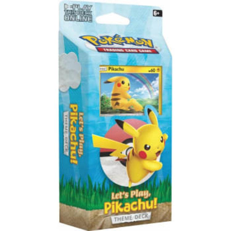 Pokemon International Pokemon Trading Card Game: Let's Play Theme Deck
