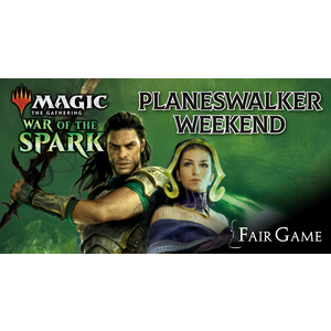 Admission: War of the Spark Planeswalker Weekend (May 25)