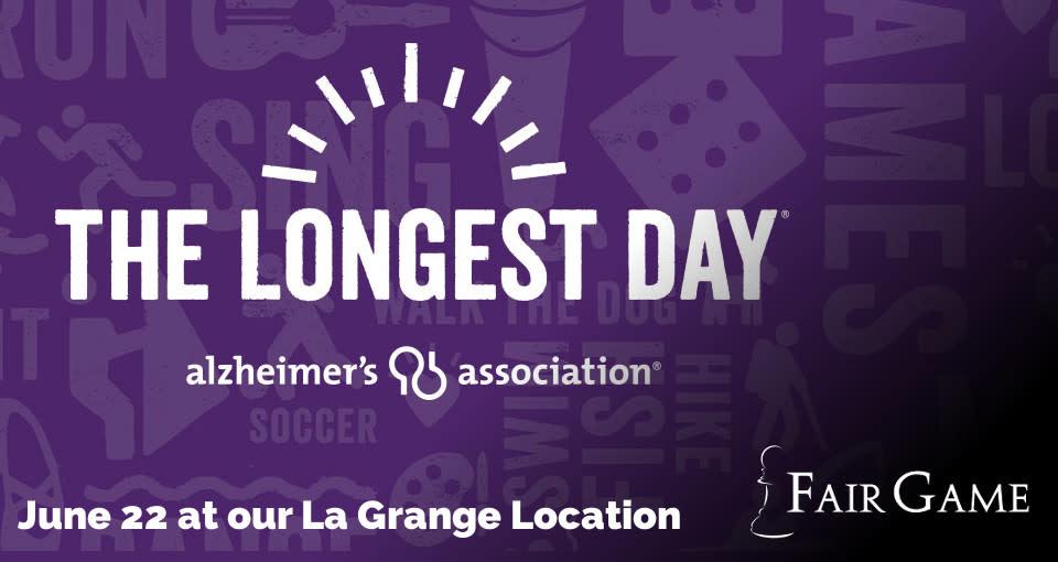 Longest Day Event Donation - June 22 - Trivia Games (5 PM - 6:30 PM)
