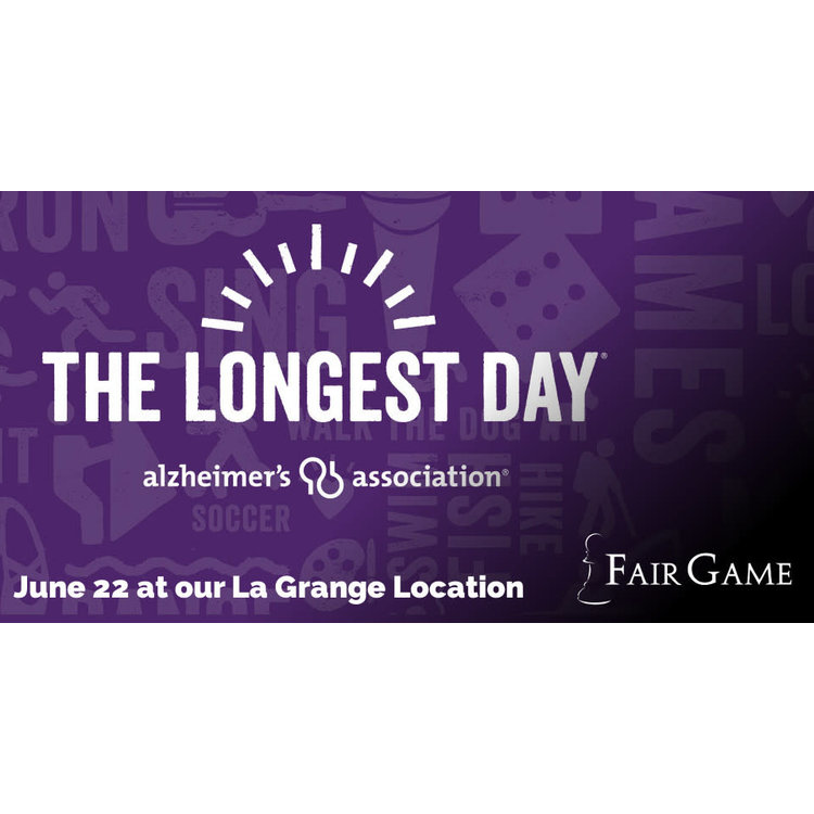 Fair Game Longest Day Event Donation - June 22  - Co-operative Games  (7 PM - 8:30 PM)