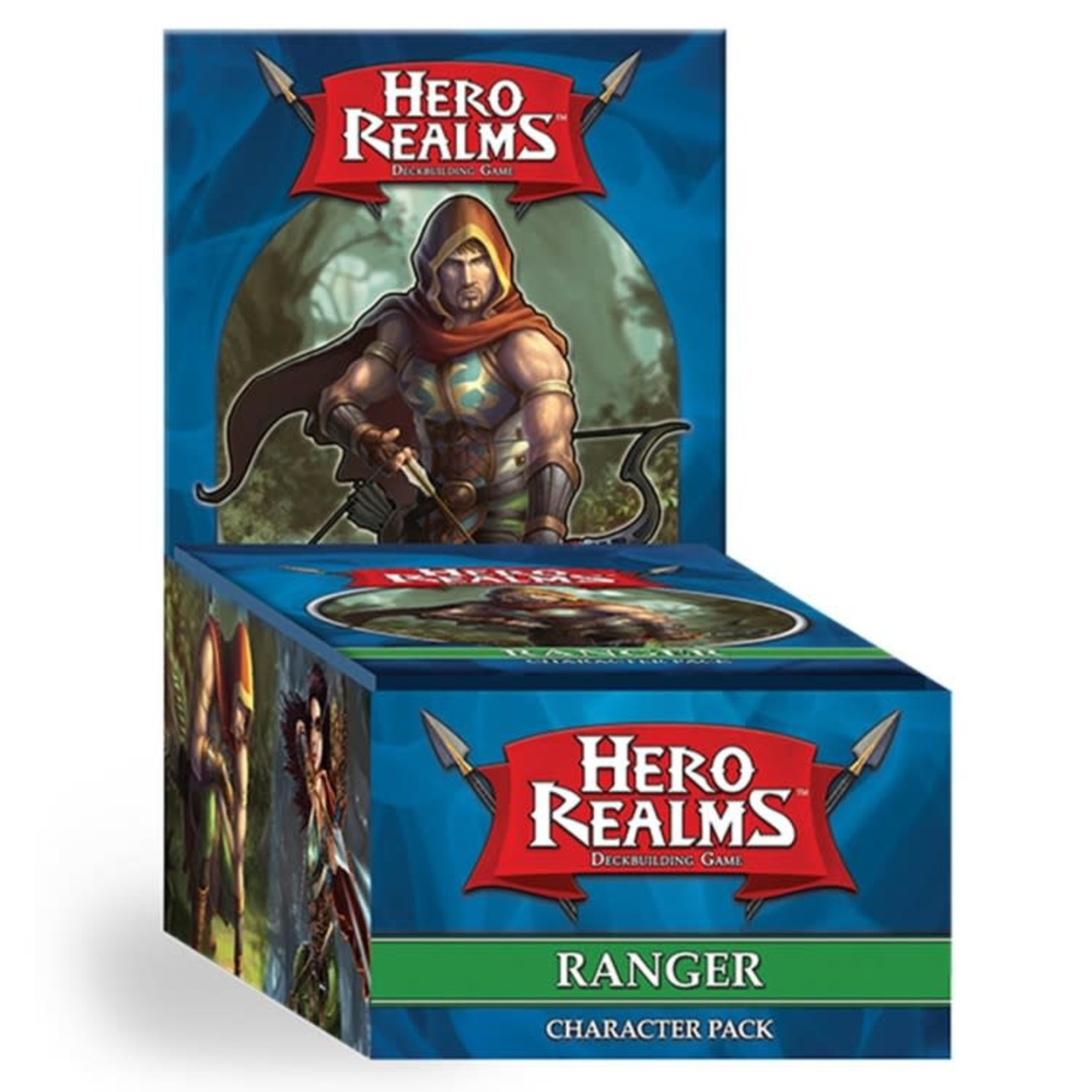 White Wizard Games Hero Realms Deckbuilding Game: Ranger Expansion Pack