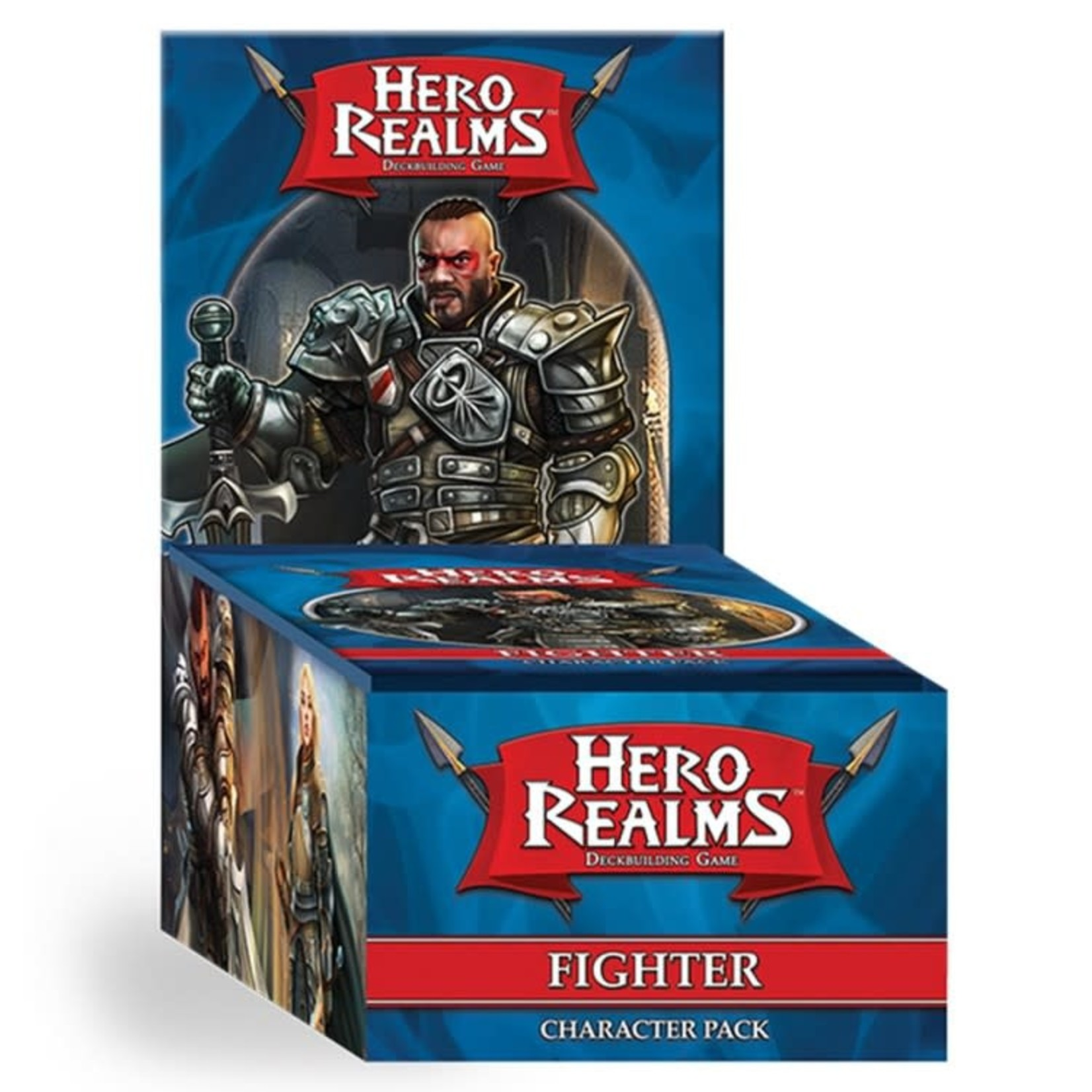 White Wizard Games Hero Realms Deckbuilding Game: Fighter Expansion Pack