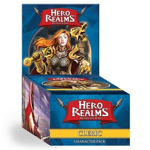 White Wizard Games Hero Realms Deckbuilding Game: Cleric Expansion Pack