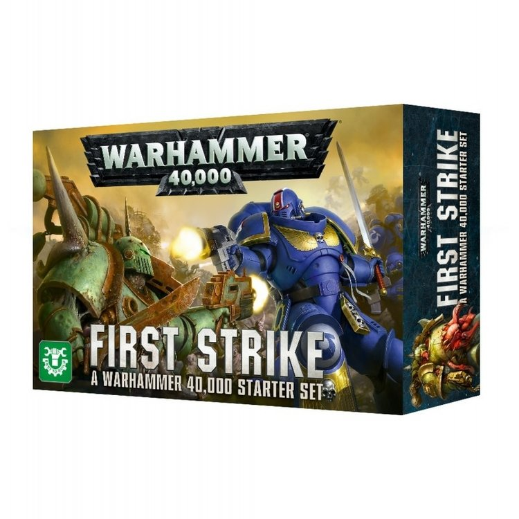 Games Workshop Warhammer 40k First Strike