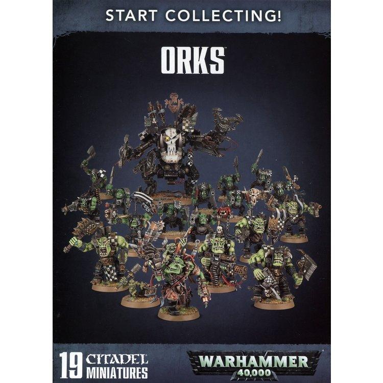 Games Workshop Start Collecting!  Orks