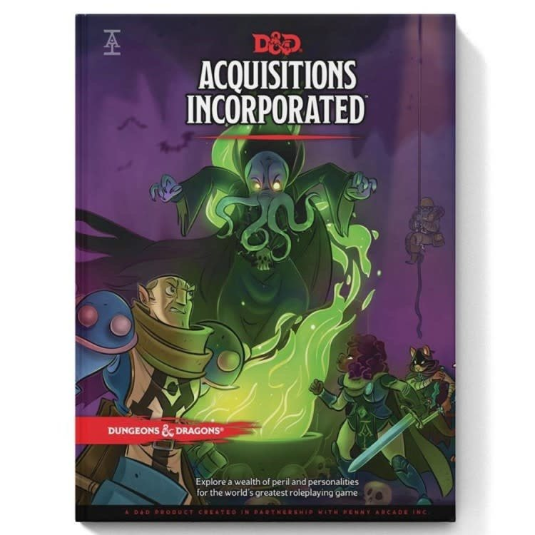 Wizards of the Coast Dungeons and Dragons 5th Edition -  Acquisitions Incorporated