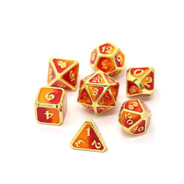 Die Hard Dice Die Hard Dice: Polyhedral Metal Dice Set - Spellbinder Phoenix