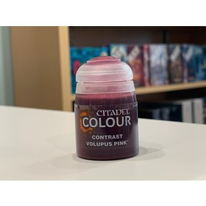 Citadel Games Workshop Citadel Colour Paint: Volupus Pink (Contrast 18ml)