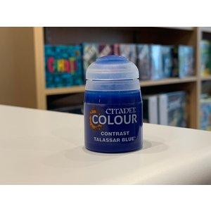 Citadel Games Workshop Citadel Colour Paint: Talassar Blue (Contrast 18ml)