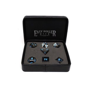 Easy Roller Dice Easy Roller: Legendary Silver Dice Set: Powder Blue