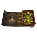 Infinite Black Elder Dice: RPG Set: Yellow Sign (9)