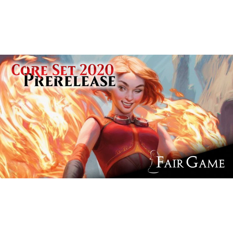 Wizards of the Coast Admission: Core 2020 Prerelease (Saturday Sealed)