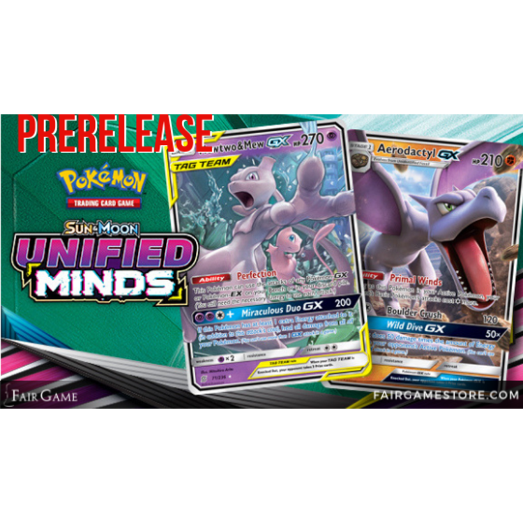 Pokemon International Admission - Pokemon Unified Minds Prerelease - July 20: Downers Grove